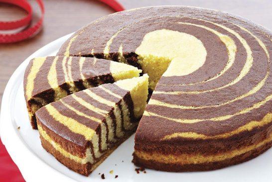 آموزش پخت کیک زبرا