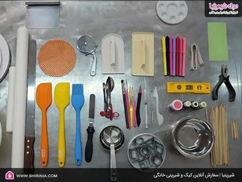 ابزار لازم برای تهیه شیرینی خشک