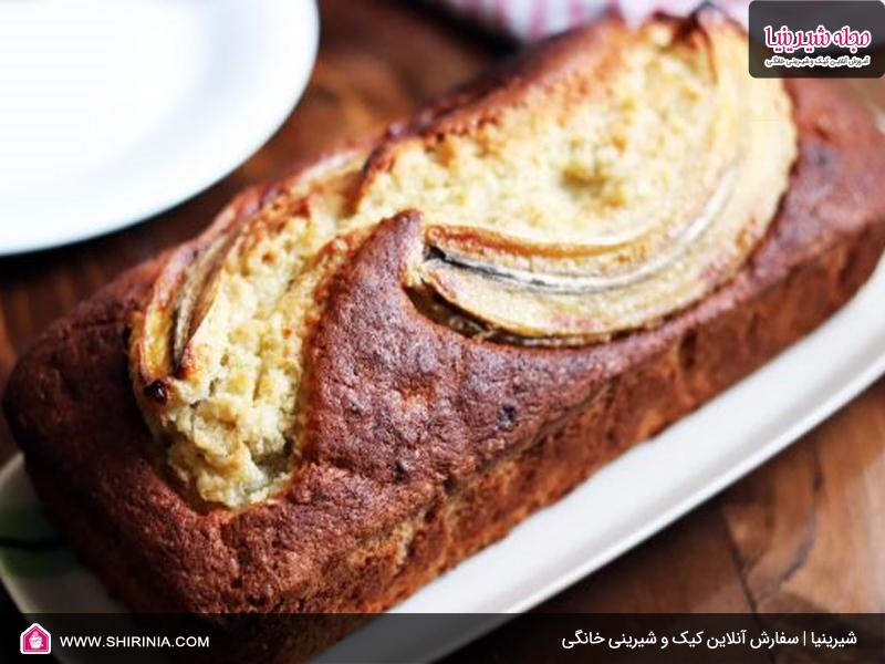 طرز تهیه کیک موز کره ای