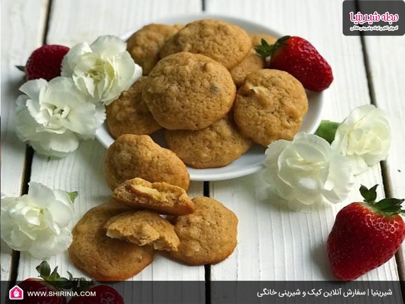 طرز تهیه شیرینی بادام درختی