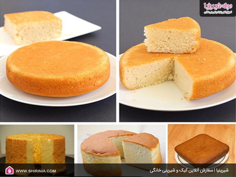 نکات طلایی در پخت کیک