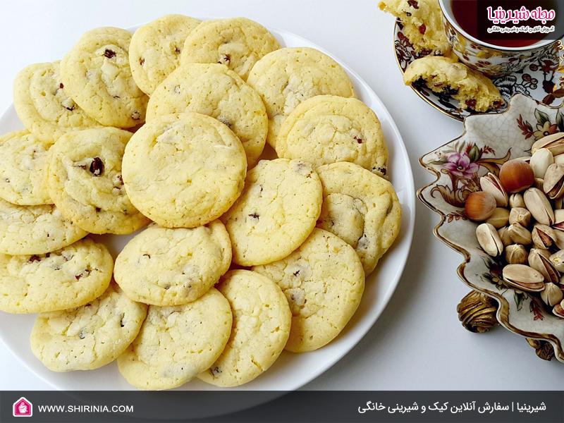 خواص شیرینی خشک کشمشی به همراه روش پخت