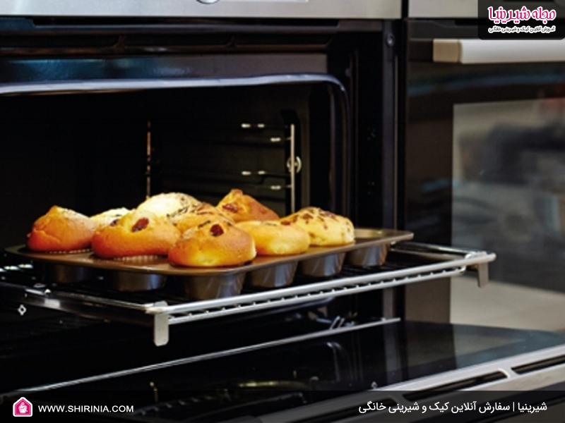 نکات استفاده از فر برای تهیه شیرینی خانگی