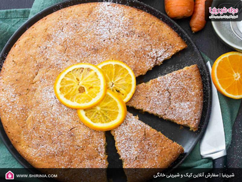 طرز تهیه کیک پرتقالی به همراه هویج