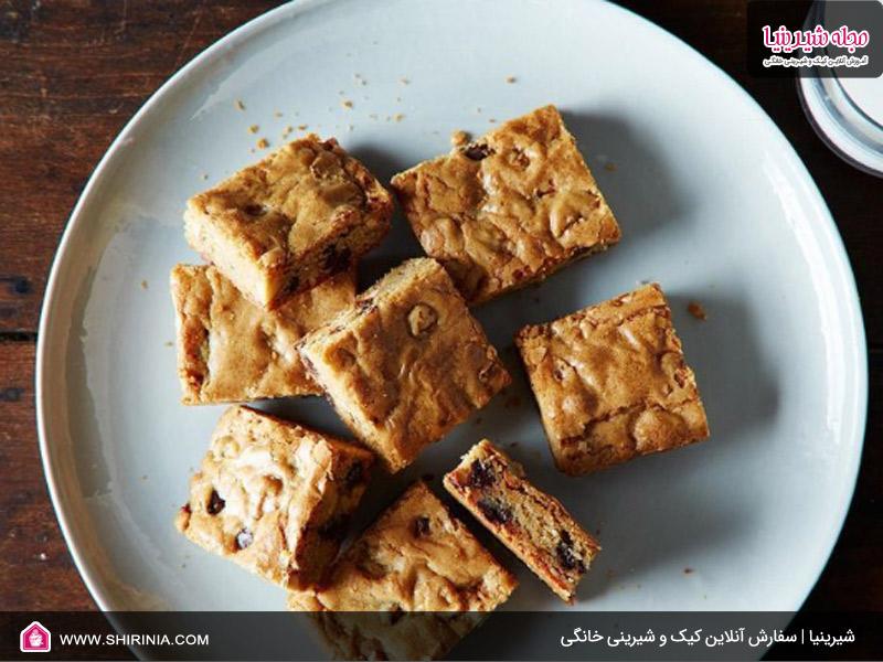 طرز تهیه کیک بلاندی