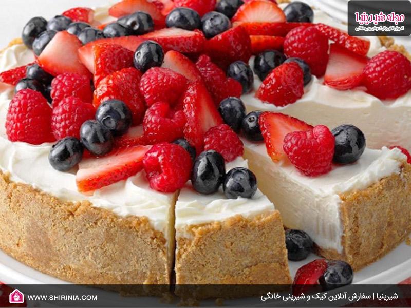 طرز تهیه چیز کیک فرانسوی