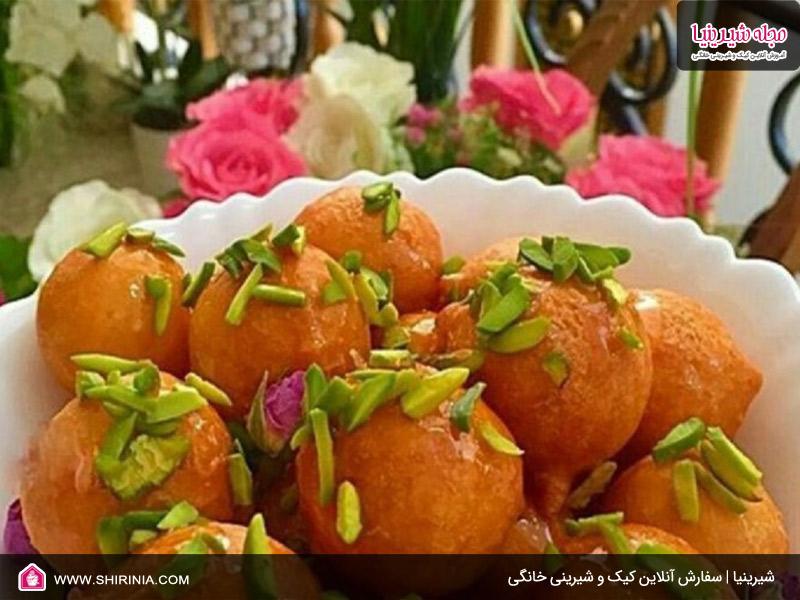 طرز تهیه لقیمات عربی