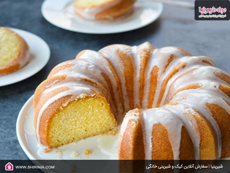 طرز تهیه کیک سون آپ