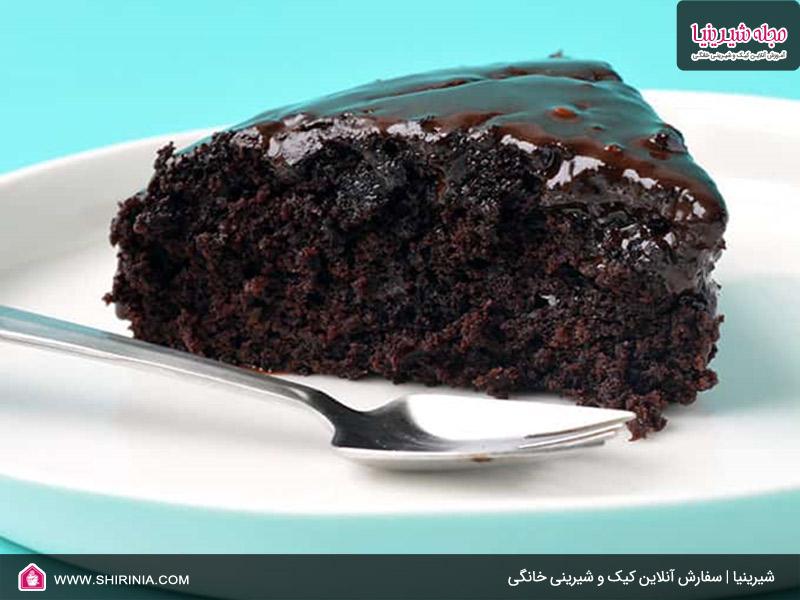 طرز تهیه کیک شکلاتی بدون تخم ممرغ