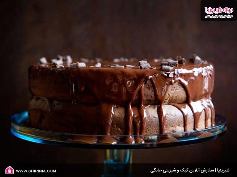 طرز تهیه کیک شکلات و اسپرسو