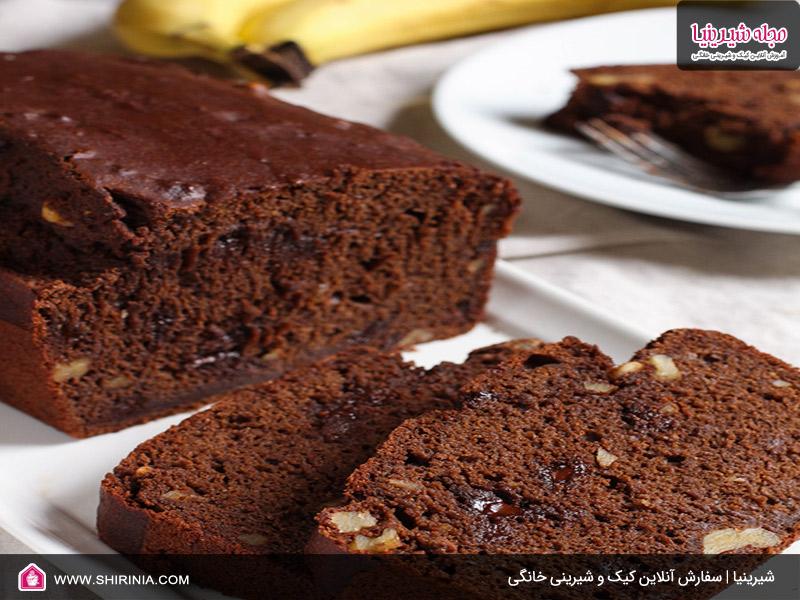 طرز تهیه کیک شکلاتی کم کالری